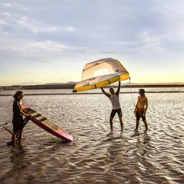 Voile littoral Richard Sprang - CRT Occitanie