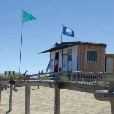 Plage label Pavillon Bleu CRTL Occitanie - Pôle Offre
