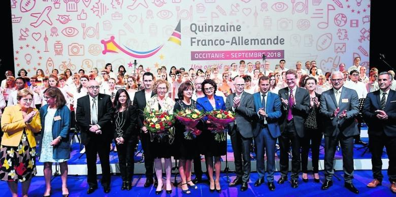 Quinzaine franco allemande 2018