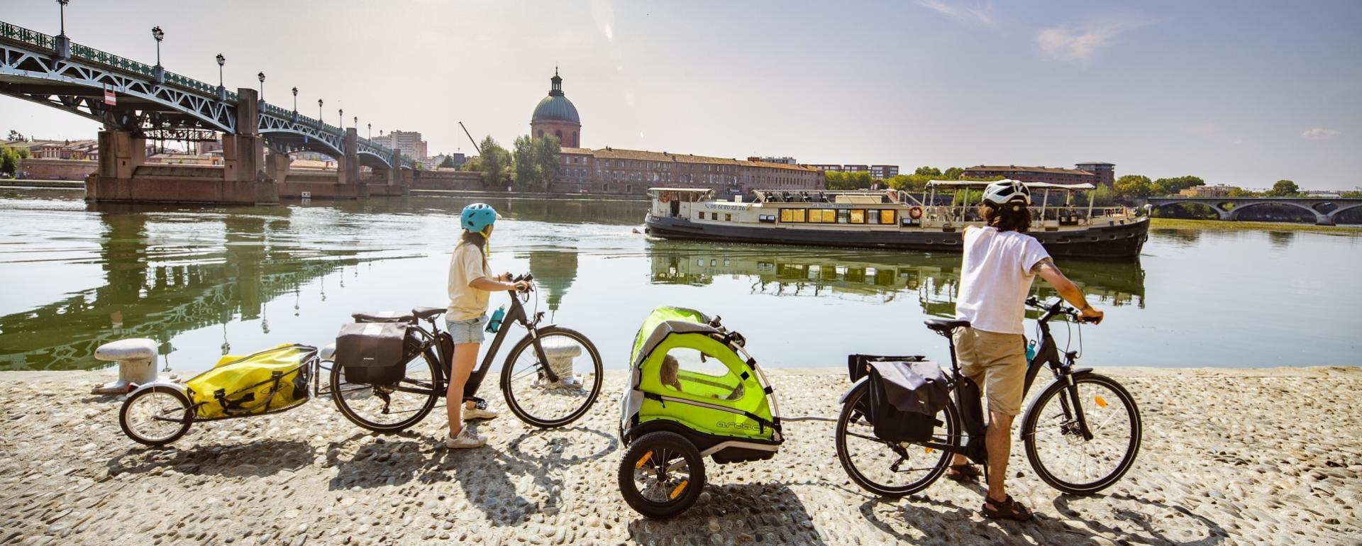 Balade à vélo - Ouvert au public Garonne Toulouse